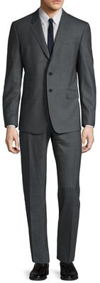 Paul SmithWool Solid Notch Lapel Slim Fit Suit