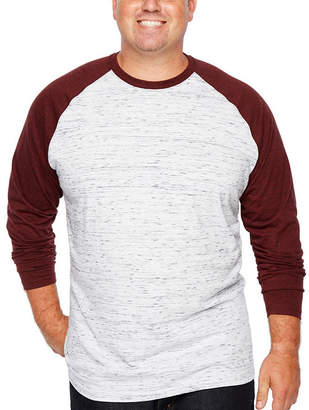 Co THE FOUNDRY SUPPLY The Foundry Big & Tall Supply Long Sleeve Crew Neck T-Shirt-Big and Tall