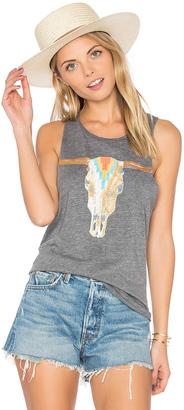 Chaser Southwestern Skull Tank $59 thestylecure.com