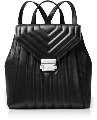 Michael Kors Whitney Quilted Leather Backpack