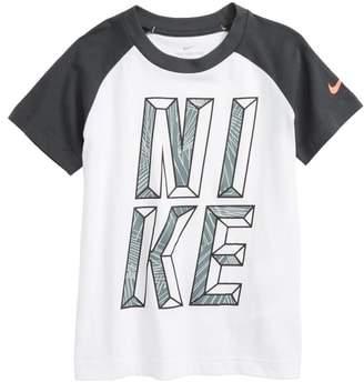 Maze Mash-Up Raglan T-Shirt