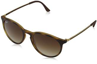 Ray-Ban Men's Injected Man Sunglass Round