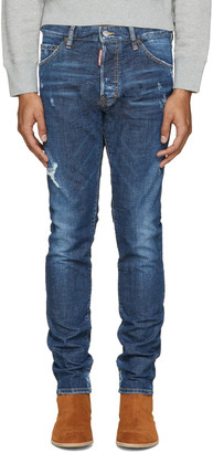 Dsquared2 Indigo Cool Guy Jeans $495 thestylecure.com