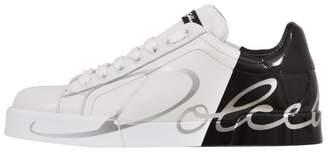 Dolce & Gabbana Two-tone Portofino Sneaker