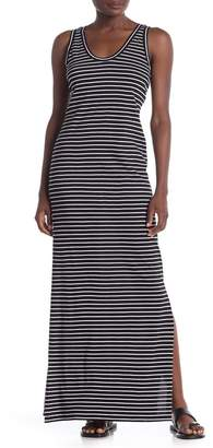 Susina Striped Cinch Back Maxi Dress (Regular & Petite)