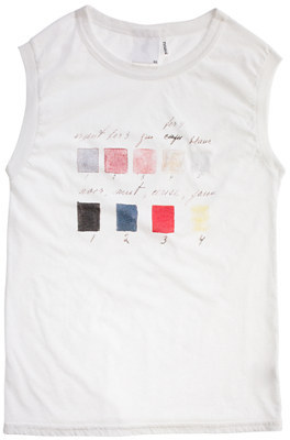 Rxmance® printed muscle tee