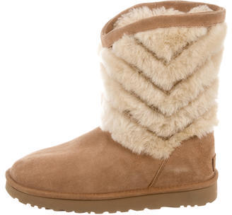 UGGUGG Australia Tania Shearling-Accented Boots
