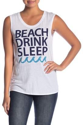 Chaser Beach Drink Sleep Tank