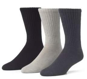 McGregor 3 Pack Athletic Crew Socks