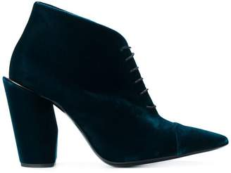Jil Sander heeled lace-up boots