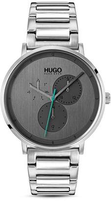 HUGO #GUIDE Link Bracelet Watch, 40mm