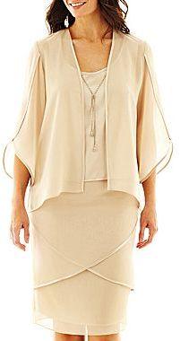 Dana Kay 3-pc. Skirt Set with Necklace