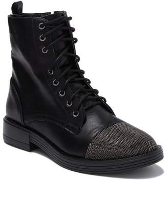 Report Xander Lace-Up Chain Cap Toe Boot