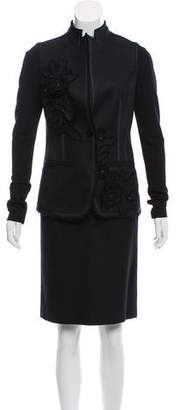 Charles Chang-Lima Tailored Knee-Length Skirt Suit