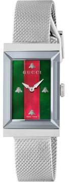 Gucci G-Frame watch, 21x34mm