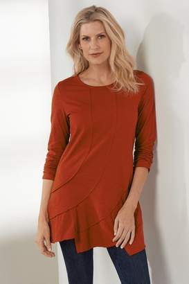 Soft Surroundings Seams Right Tunic