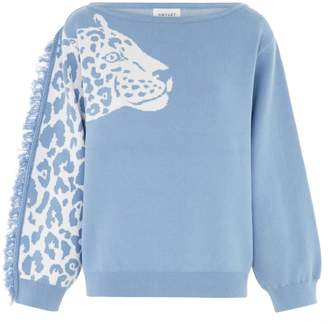 Hayley Menzies - Panthera Jumper - Blue