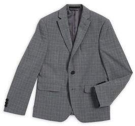 Lauren Ralph Lauren Boy's Broad Grid Suit Jacket