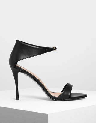 Charles & Keith Front Buckle Heels