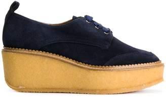 Castaner contrast platform sneakers