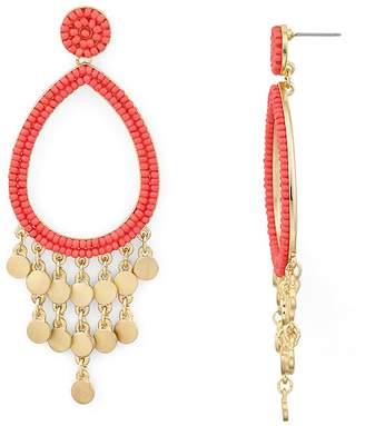 Rebecca Minkoff Riley Beaded Chandelier Earrings