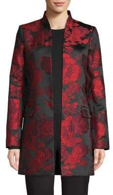 Calvin Klein Open Brocade Jacket