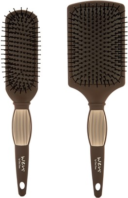 Wen WEN by Chaz Dean Set of 2 Paddle & Sculpting Brushes