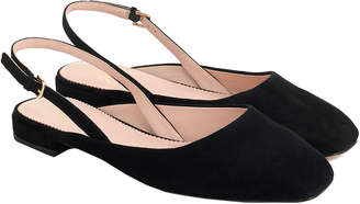J.Crew Sally Suede Slingback Flat