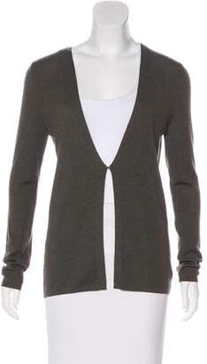 Akris Cashmere Long Sleeve Cardigan