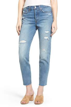 Levi's Wedgie High Waist Crop Jeans (Partner in Crime)