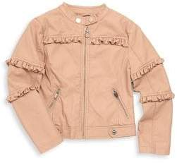 Urban Republic Little Girl's Ruffle-Trimmed Jacket