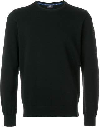 Paul & Shark long-sleeve fitted sweater