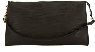 Louis Vuitton Noir Epi Leather Pochette Accessoires 24 Bag (Pre Owned)