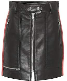 Etoile Isabel Marant Isabel Marant, Étoile Alynne leather skirt