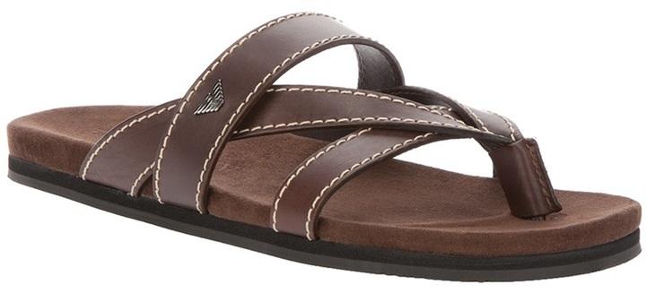 Emporio Armani flat sandal