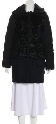 Moncler Robinier Wool Coat