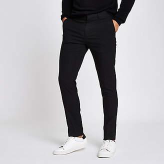 River Island Black skinny fit smart pants