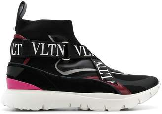 Valentino Heroes logo strap sneakers