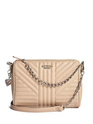 Factory GUESS Women's Marisol Quilted Crossbody
