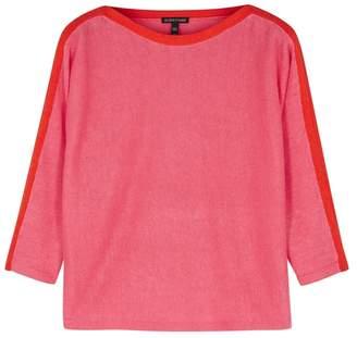 Eileen Fisher Pink Organic Linen Jumper