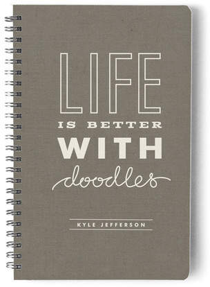 Life with Doodle Day Planner, Notebook, or Address Book