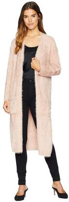 BB Dakota Lovefool Eyelash Yarn Cardigan Women's Sweater