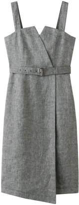 Allureville (アルアバイル) - アルアバイル リネンヘリンボーンジャンパースカート