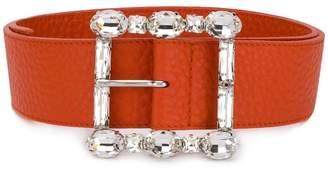 Orciani crystal embellished belt