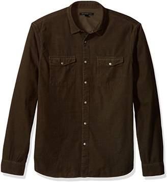 John Varvatos Men's Long Sleeve Western Shirt 63EE
