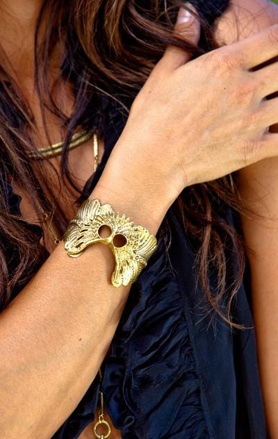 Alkemie jewelry Owl Cuff