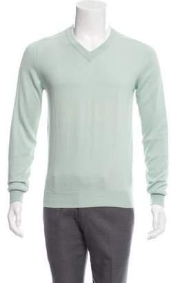 Maison Margiela Lightweight V-Neck Sweater