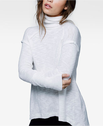 Free People High-Low Turtleneck $68 thestylecure.com