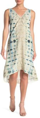 Go Silk Go by High/Low Printed Silk Dress