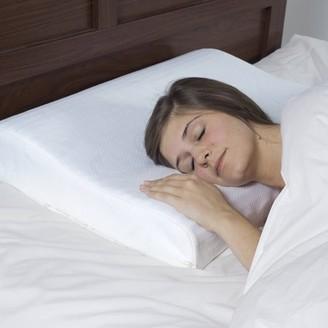 Remedy Blue Memory Foam Adjustable Height Bedroom Pillow
